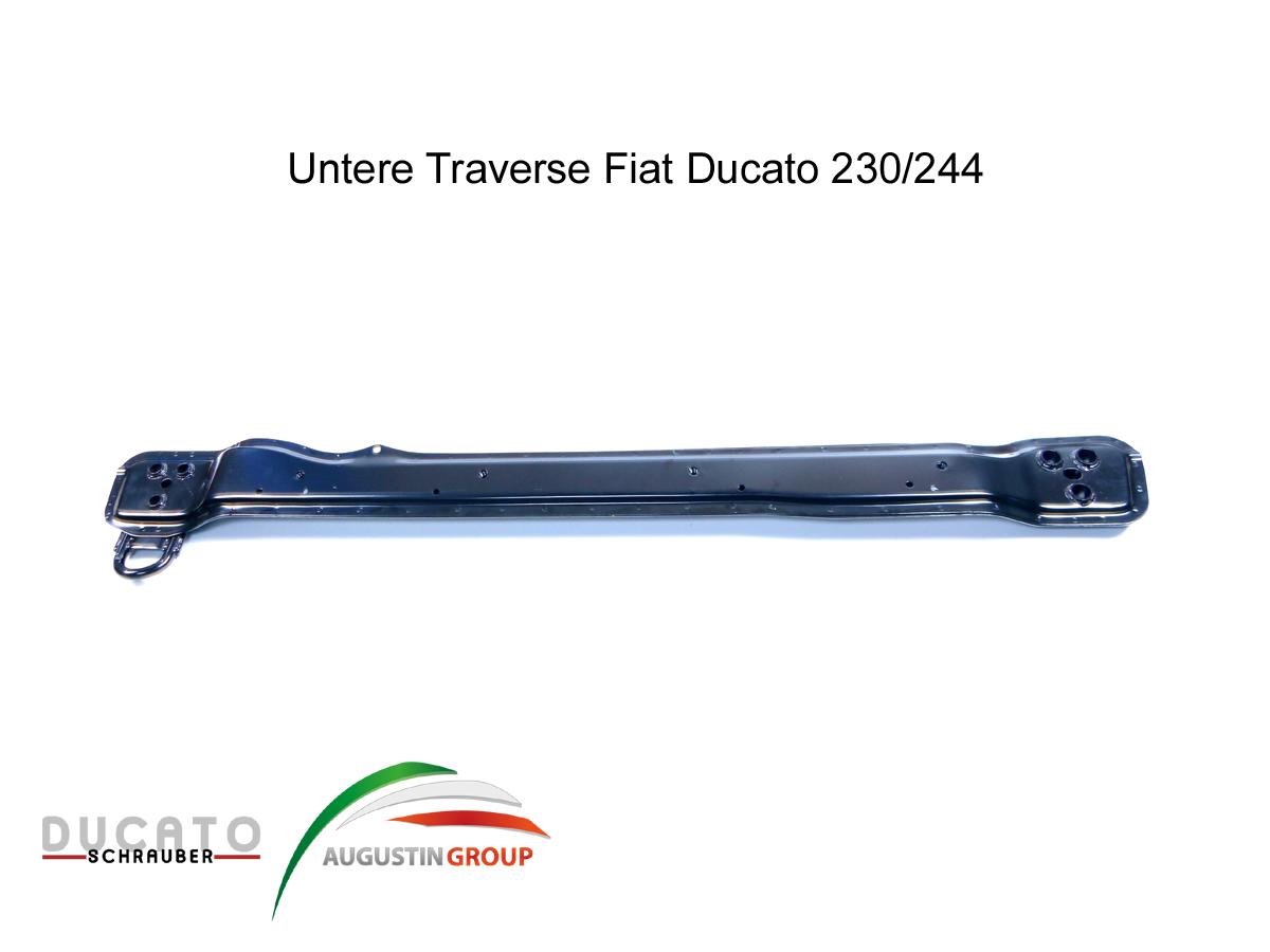 Einbauanleitung für die untere Traverse beim Ducato