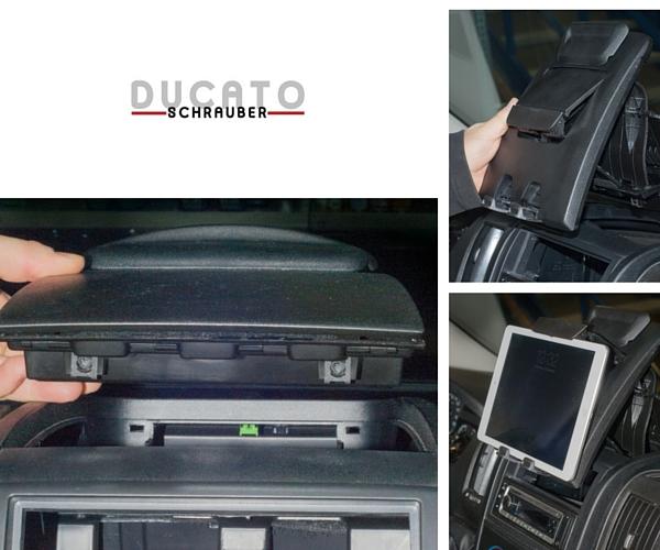 Tablet Halter Ducato Wohmobil einbauanleitung ducatoschrauber (2)
