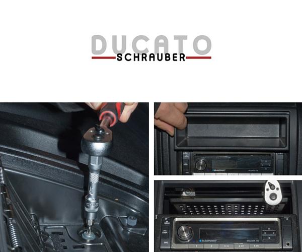 Tablet Halter Ducato Wohmobil einbauanleitung ducatoschrauber
