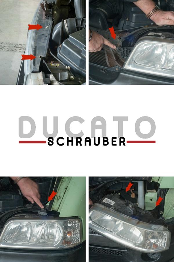 Gluehbirne wechseln Ducato Ducatoschrauber