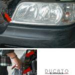 Glühbirne am Fiat Ducato 244 wechseln - Einbau Schweinwerfer und Kühlergrill