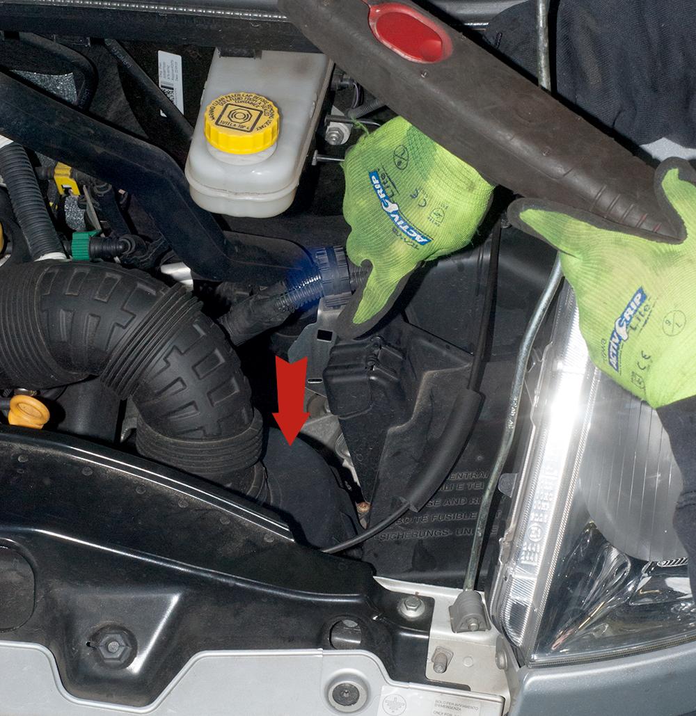 Luftfilter Ducato Typ 250