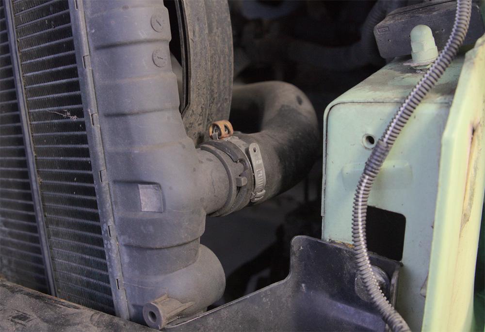 Unterer Kühlerschlauch Ducato Typ 244