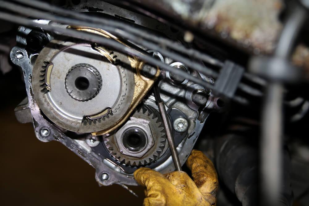 Sicherungsstift an der Synchronisation des fünften Ganges Ducato Typ 244 - Ducatoschrauber