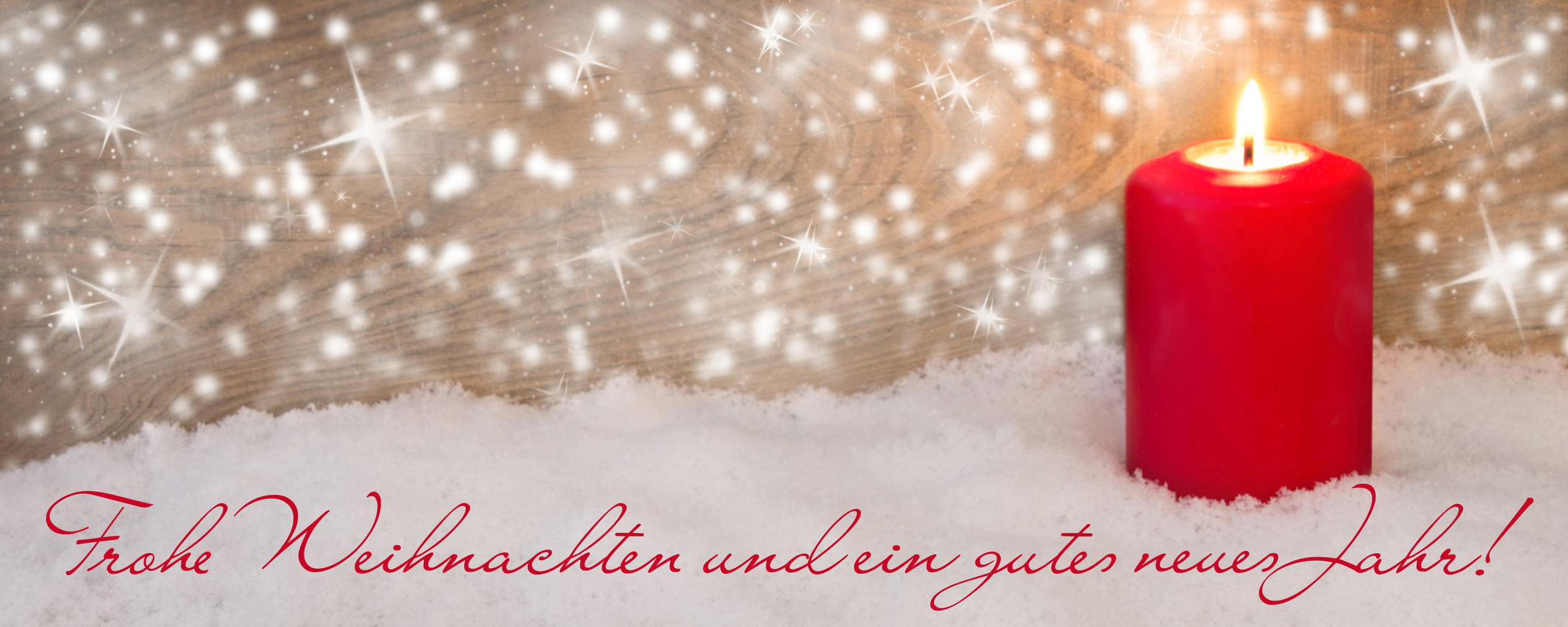Frohe Weichnachten und ein gutes neues Jahr
