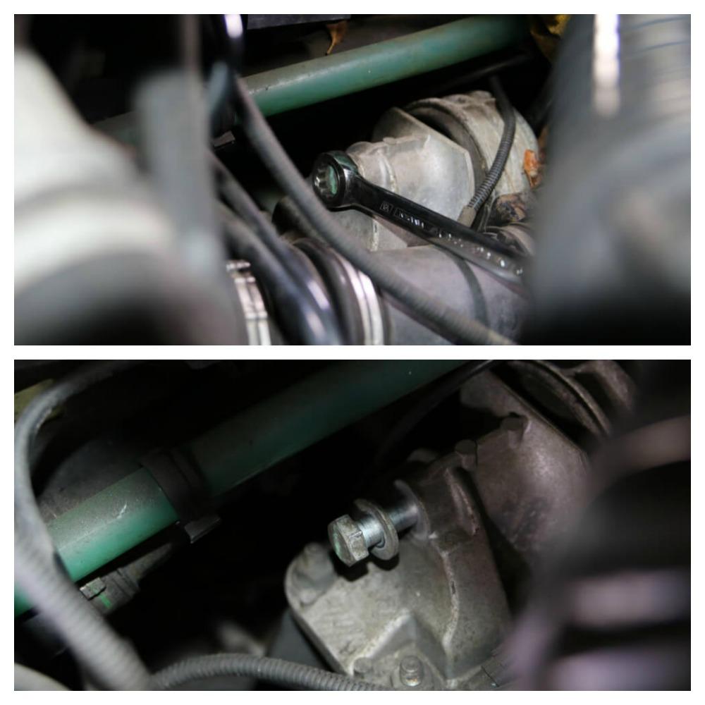 Schraube des Getriebehalter Ducato Typ 244 - Ducatoschrauber