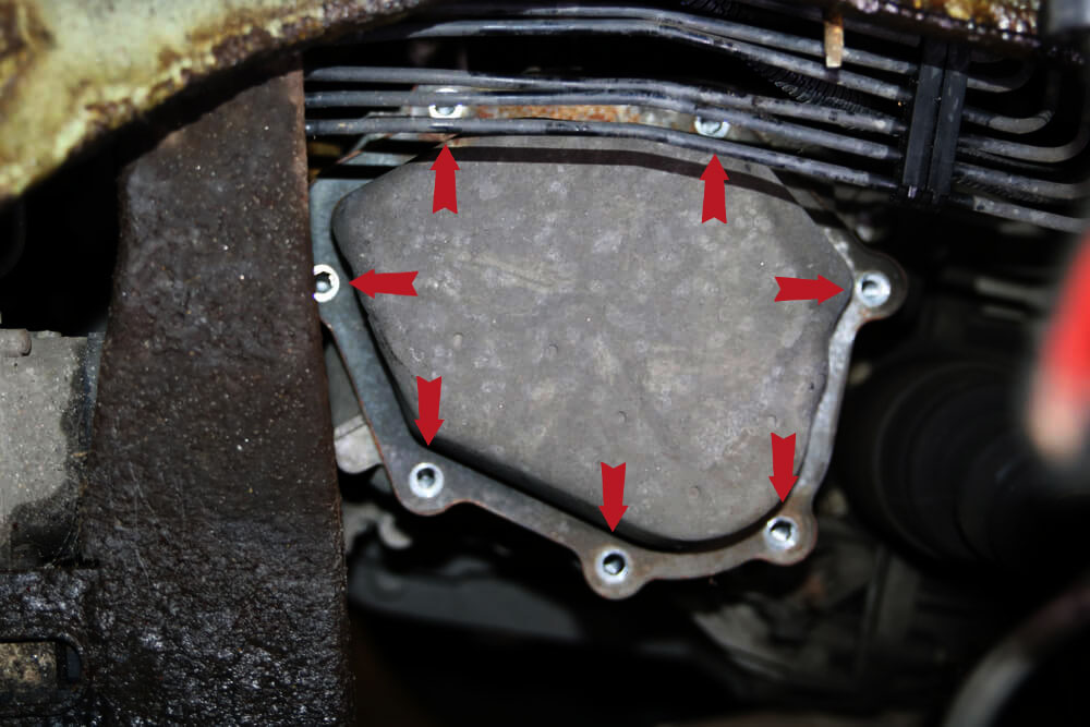 Schraube des Getriedeckels Ducato Typ 244 - Ducatoschrauber