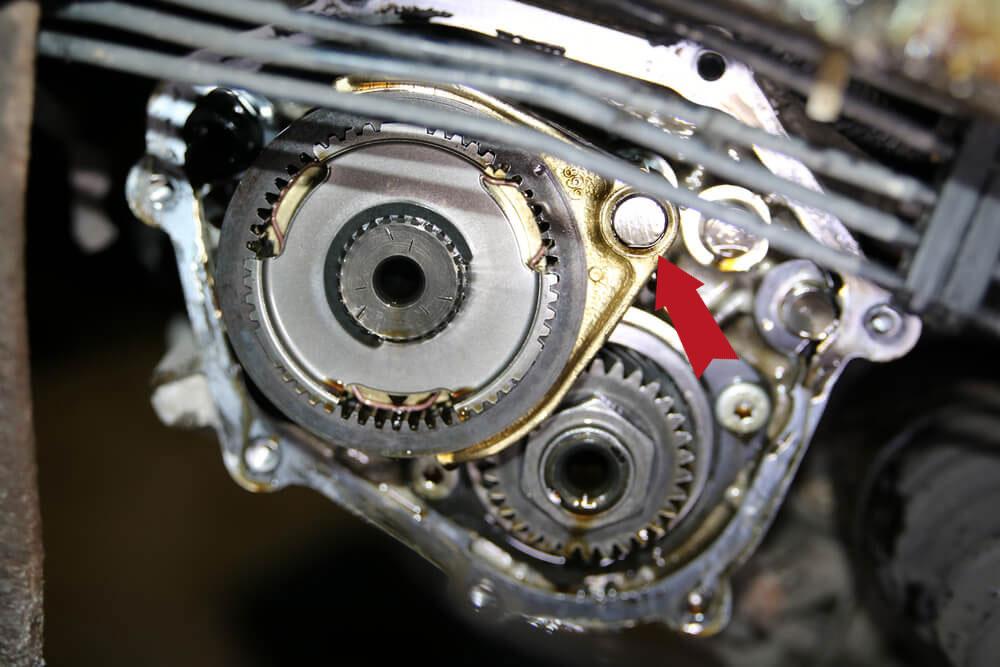 Sicherungsstift an der Synchroniserung Ducato Typ 244 - Ducatoschrauber