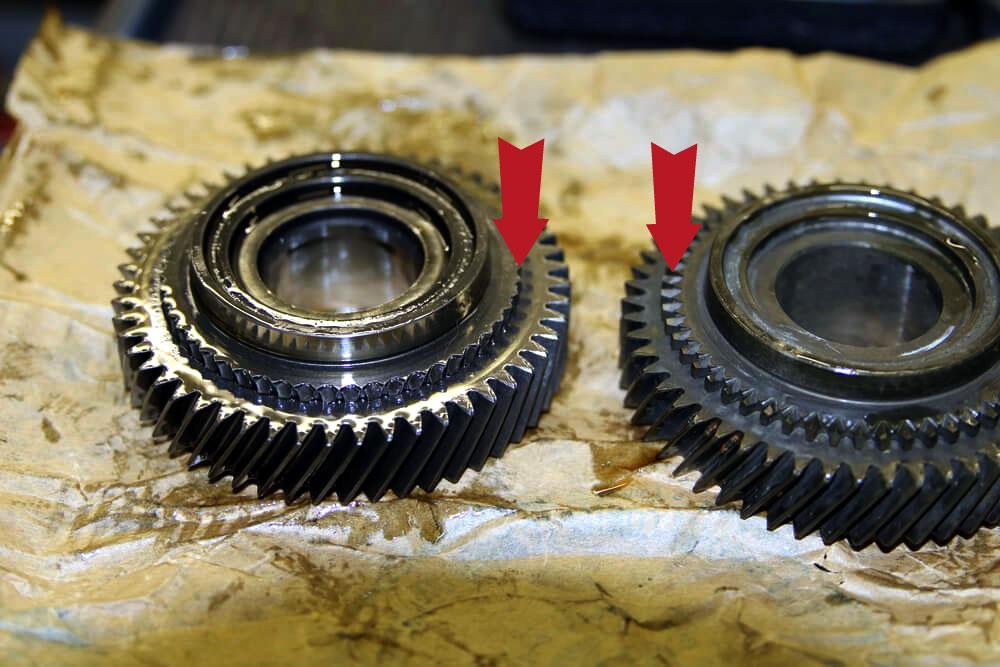 abgebrochene Zähne fünfter Gang Ducato Typ 244 - Ducatoschrauber