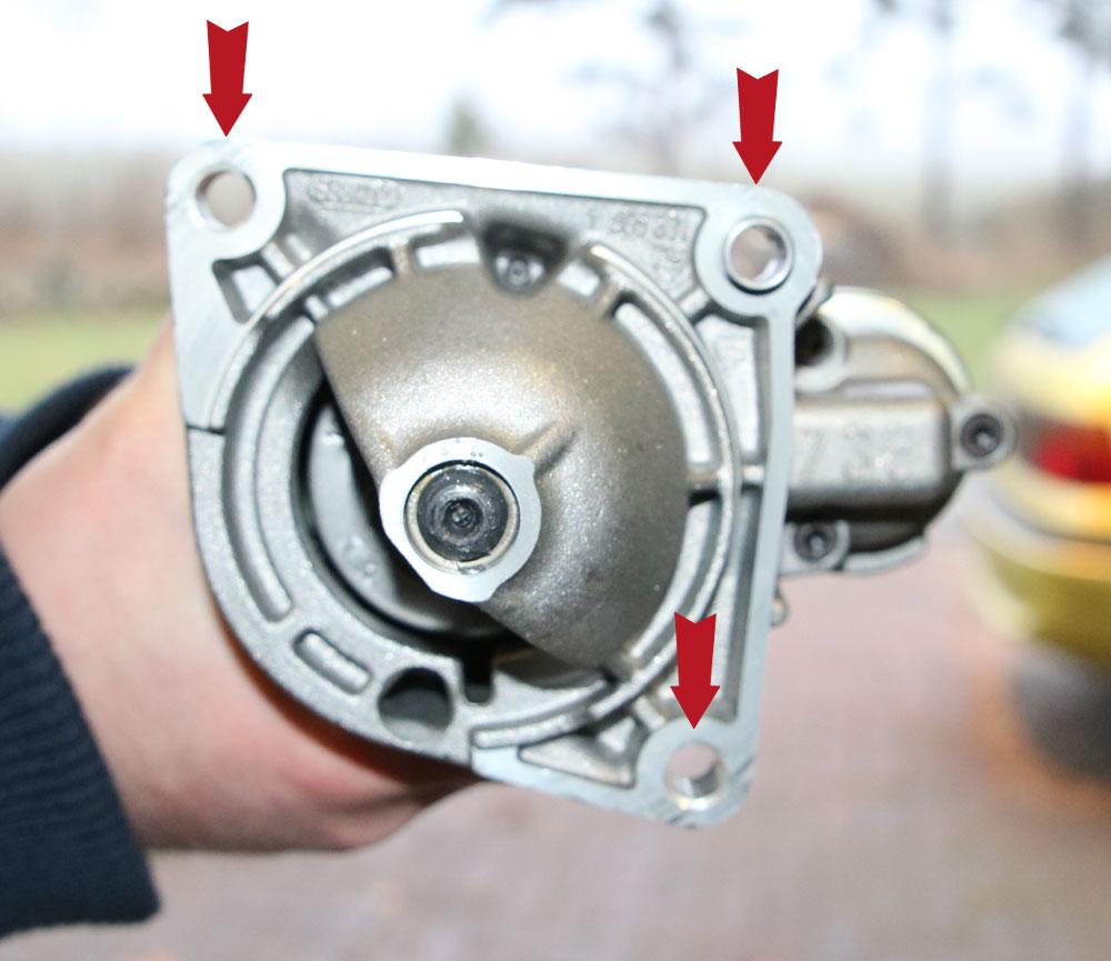 Befestigungspunkte Anlasser Ducato X250 - ducatoschrauber.de