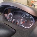 Das Kombiinstrument im Fiat Ducato Typ 250 aus Sicht des Beifahrers.