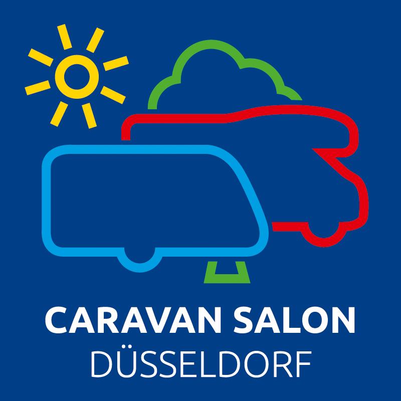 Logo der Messe Caravan Salon 2019.