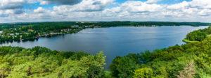 Panoramablick Krakow am See, Mecklenburgische Seenplatte